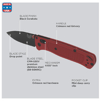 BENCHMADE 535BK-2001 BUGOUT 2020 - Authorised Aust. Retailer