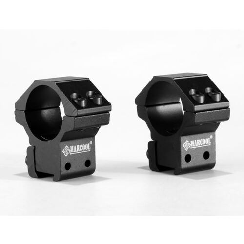 MARCOOL OPTICS Dovetail 25.4mm Low 4 BOLT Mount - Authorised Aust. Retailer